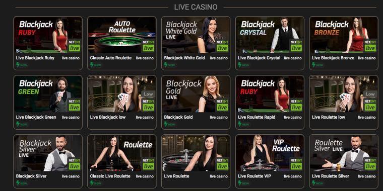 CasinoCasino - live